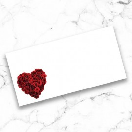 La Vie En Rose Wedding Place Card