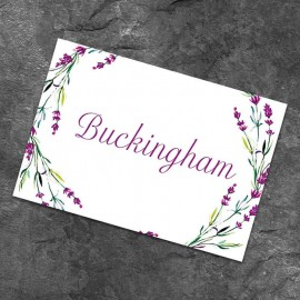 Lavender Table Names - Pack of 10