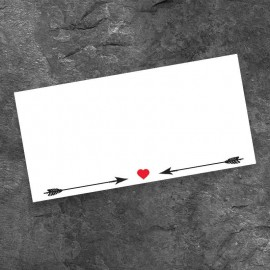 Love Match Wedding Place Card