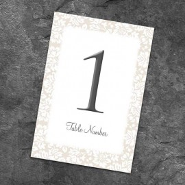 Lustre Table Numbers - Pack of 10