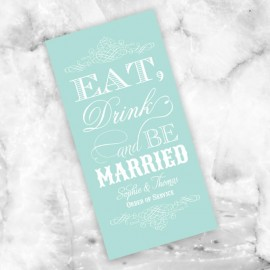 Mint Eat Drink & Be Married Order of Service