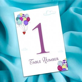 My Dream Table Numbers - Pack of 10