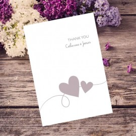 Newlyweds Thank You Card