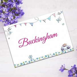 Our Big Day Table Names - Pack of 10
