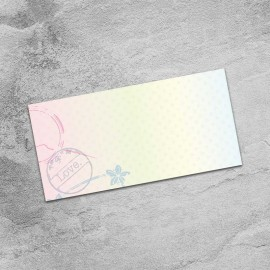 Passport to Love Wedding Place Card