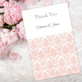 Pink Eternity Thank You Card
