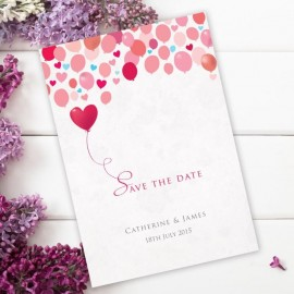 Follow Your Heart Save the Date Card