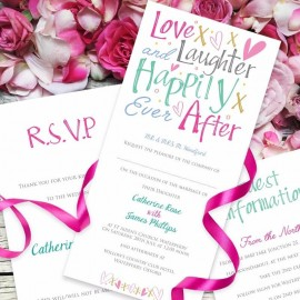 Jubilation Wedding Invitation