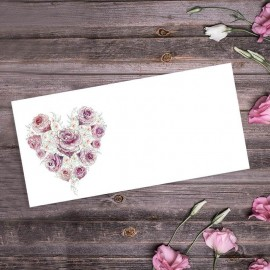 Radiant Rose Wedding Place Card