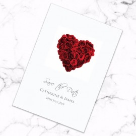 La Vie En Rose Save the Date Card