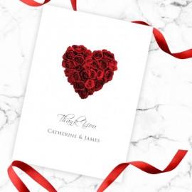 La Vie En Rose Thank You Card