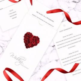 La Vie En Rose Wedding Invitation