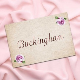 Rosebud Table Names - Pack of 10