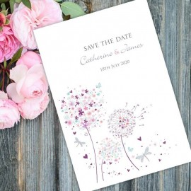 Serenity Save the Date Card