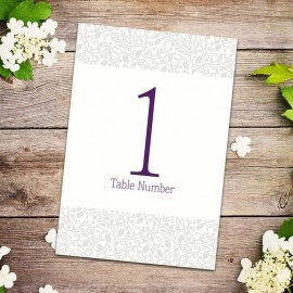Simplicity Table Numbers - Pack of 10