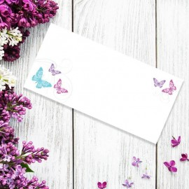 Two Become One Wedding Place Card