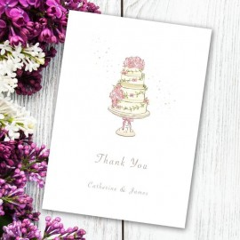 Four Ever Thank You Card