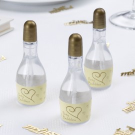 Ivory & Gold Champagne Bubbles - Pack of 24