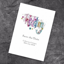 Wedding Bliss Save the Date Card