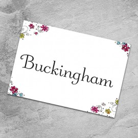 Wedding Bliss Table Names - Pack of 10