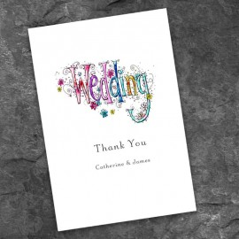 Wedding Bliss Thank You Card