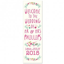 Whimsical Pop-Up Wedding Sign
