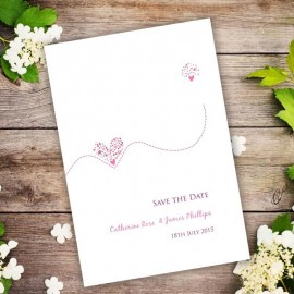 Je Taime Save the Date Card
