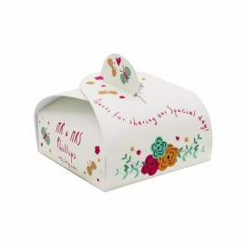 Whimsical Wrap Favour Box - Pack of 12