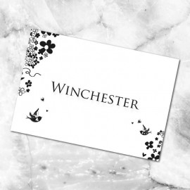 Windsor Table Names - Pack of 10