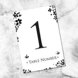 Windsor Table Numbers - Pack of 10