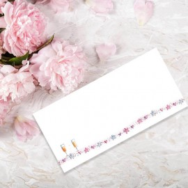 With Love Wedding Place Card