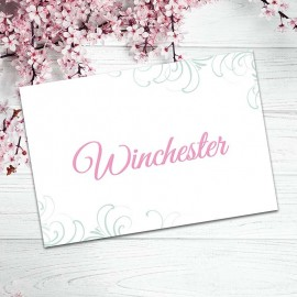 With This Ring Table Names - Pack of 10
