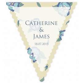 Bunting Fun Yellow Wedding Bunting