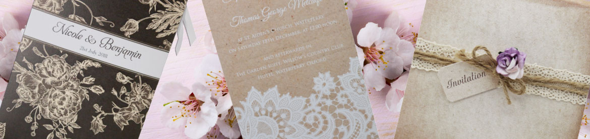 View our full collection of brown wedding invitations